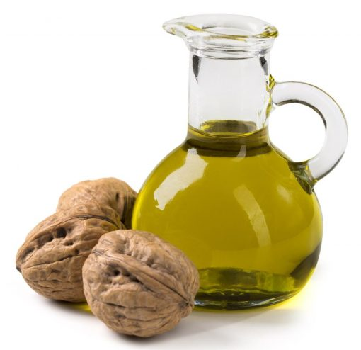 aceite de nueces frutos secos